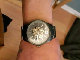 Brand new Fossil skeleton watch. Never been worn.