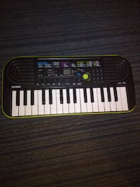 black and white electronic mini keyboard Alexandria
