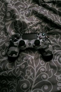 black and gray camouflage Sony PS4 controller Edmonton, T6L