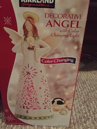Colour changing Angel decor She lights up with different colours 550 km