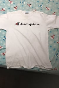 White Champion Shirt Toronto, M9W 3C3