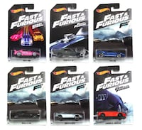 Hot Wheels Fast & Furious Complete Set of 6 Oklahoma City