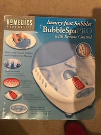 Homedics Luxury Foot bubbler box