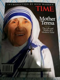 Mother Teresa Special Edition magazine & Medal  Dundalk, 21222