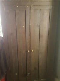 brown wooden 3-door wardrobe Regina, S4N 3S2