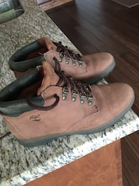 Timberland ladies tan boots size 8