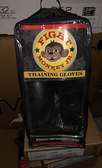 fight monkey jr boxing/training gloves