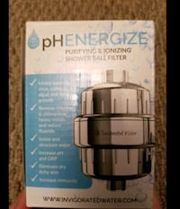 Never Used Purifying & Ionizing Shower Ball Filter Calgary, T2J 0L8