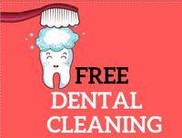 Free dental cleaning & X-ray Toronto