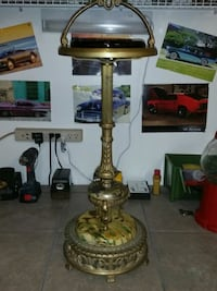 Vintage Brass standing ashtray Montreal