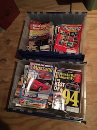 assorted car magazine collection