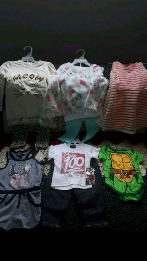 Infant to toddler sizes 6 months and up
