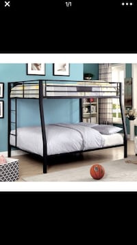 Queen over full XL  bunk bed frame Lorton, 22079