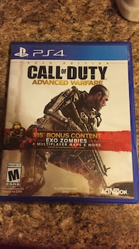 Call of Duty advanced warfare PS4 game case Clinton, 20735