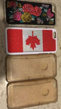 four assorted-color iPhone cases 876 km