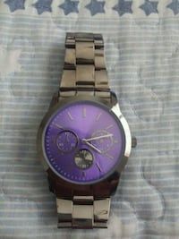 Silver and purple watch  Merced, 95340