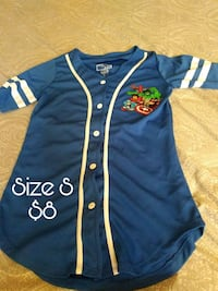blue and white Adidas jersey shirt El Paso, 79915