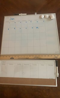 Dry erase calendar weekly and monthly set of two  Fredericksburg, 22408