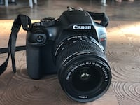 Black Canon EOS Rebel T6 (WiFi integrated) 771 mi