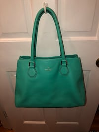 women's green leather tote bag Arlington, 22203