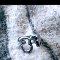 Silver OM ring size 9