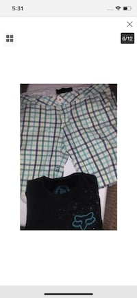Fox junior clothing  3tee shirts&1 Capri shorts Paicines, 95043