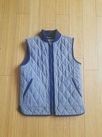 blue and black zip-up vest Antioch, 94531