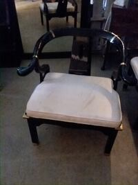 white and brown wooden armchair Decatur