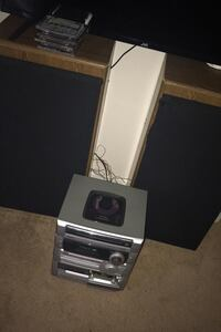 2 house speakers and 1 single speaker