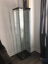 Beautiful glass shelving unit with light unserts Vaughan, L4J 3W3