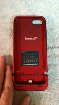 case with battery charger for iPhone 5