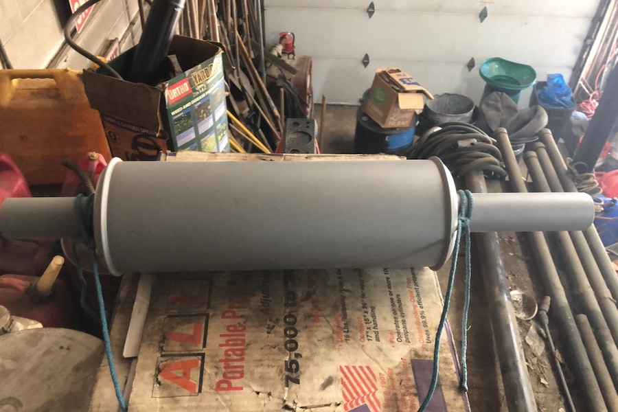 Photo 67-78 ford tractor muffler