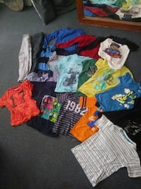 Kids shirts nd a couple of pants & a pair of vans Beaumont, 77705