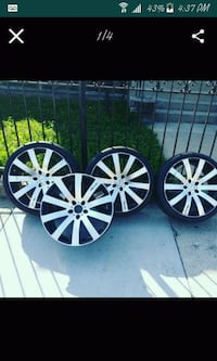 Zinger 20 inch rims had them on a 05 altima  Chicago, 60629