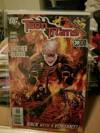 DC Teen Titans Brother Blood comic book Fort Myers, 33967