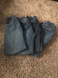Boys size 12 reg adjustable waist Levi's