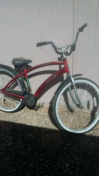red and black cruiser bike Surprise, 85374
