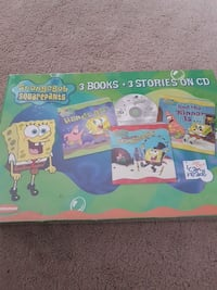 3 Books and Stories on CD