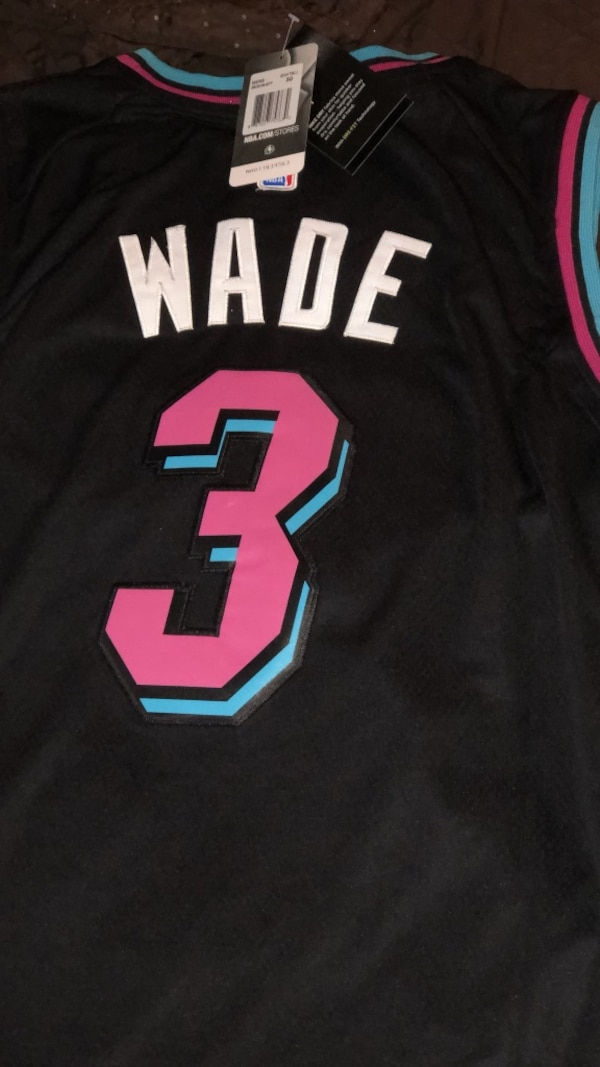 online store 5c22c 13e23 D.Wade Miami Vice Jersey $50