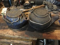 2 old cast iron tea kettles Frederick, 21703