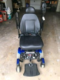 electric wheel chair and truck lift