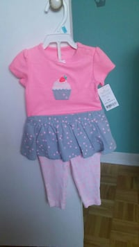 Baby girl outfit. Size 6 months