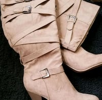 """LADIES SIZE 9.5"""" SUEDE BOOTS (NEW) Plaistow, 03865"""