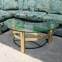 Set of Brass and Glass Tables Long Beach, 90810