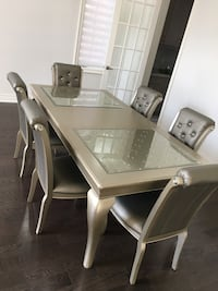 Brand New Dining Table with 6 Chairs Brampton, L6R 2W5