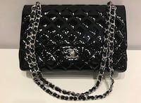 Chanel Classic Double Flap Jumbo in Black patent leather  Baltimore