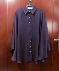 purple button-up long sleeve shirt Makati City, 1223