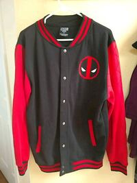 Deadpool black and red letterman jacket Albuquerque, 87120