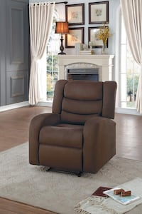 Recliner Chair Chocolate Color. Brand new from Warehouse Franklin Township, 08873