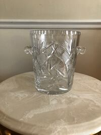 Authentic CRYSTAL ice bucket Potomac, 20854